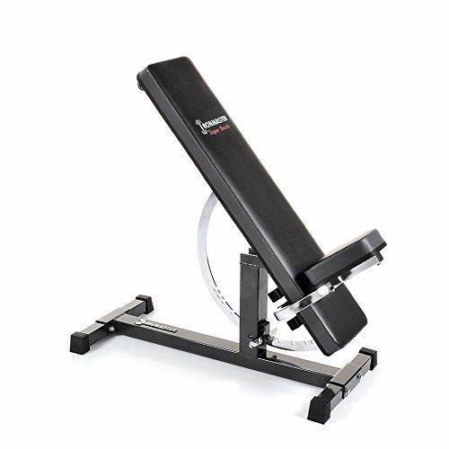 Best overall exercise equipment for home - Ironmaster Super Bench Adjustable Weight-lifting Bench
