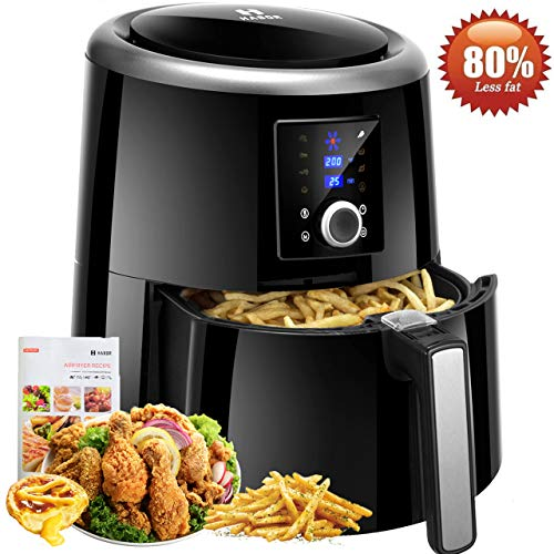 Power air fryer oven reviews - Habor Air Fryer XL, 5.8 QT Oilless Air Fryer Oven