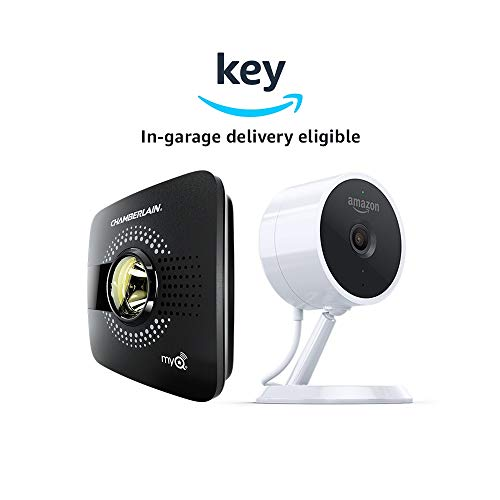 Compare Nest Cam Indoor Security Camera vs. MyQ Smart Garage Door Opener with Amazon Cloud Cam Indoor Security Camera