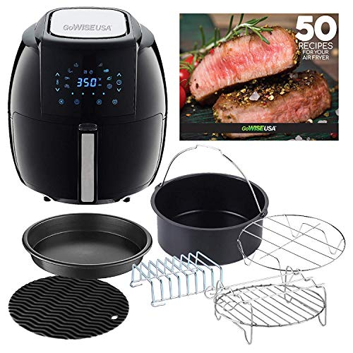 GoWISE Air Fryer Reviews - GoWISE USA 5.8 Quart Air Fryer