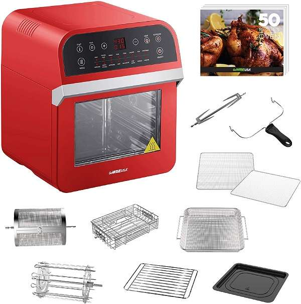 GoWISE USA Air Fryer Oven 12.7-quart