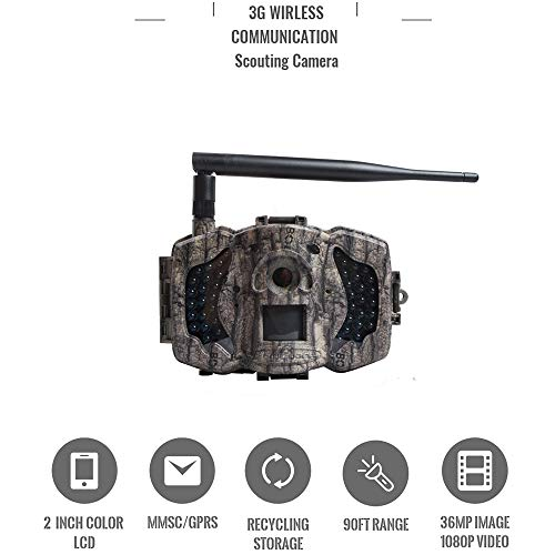 Best Cellular Trail Camera - Boly MG983G 30MP 3G Wireless Trail Camera