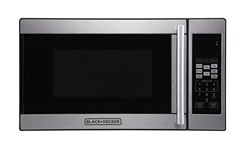 Best Budget Microwave - Black + Decker 0.7 Cubic Foot 700 Watt Stainless Steel Microwave