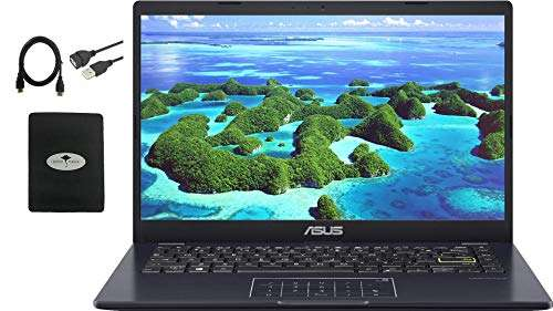 """Newest ASUS 14"""" Thin Light Business Student Laptop"""