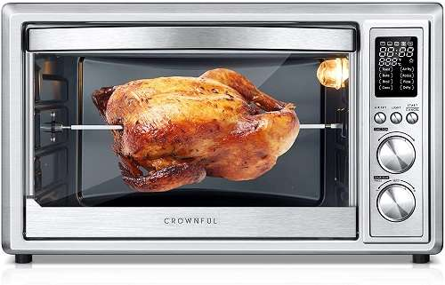 Crownful Air Fryer Toaster Oven