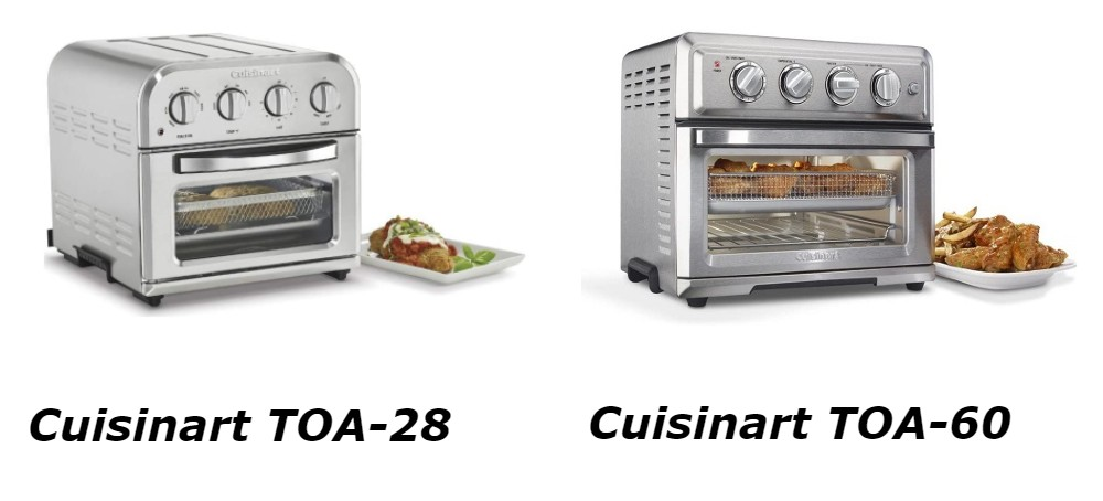 Cuisinart TOA-28 Vs TOA-60 - What Are The Main Differences