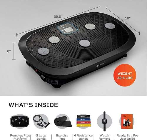 What Users Are Saying About Rumblex Plus 4D Vibration Plate Exercise Machine