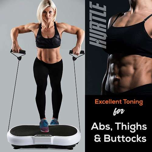 What Users are Saying About the Hurtle Fitness Vibration Platform Workout Machine