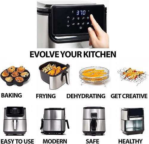 What Are Users Saying aboutYedi Evolution Air Fryer